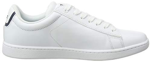 14225 6 lacoste carnaby bl damen snea | Lacoste Carnaby BL, Damen Sneaker, Weiß (weiß / dunkelblau weiß/dunkelblau), 38 EU (5 UK)