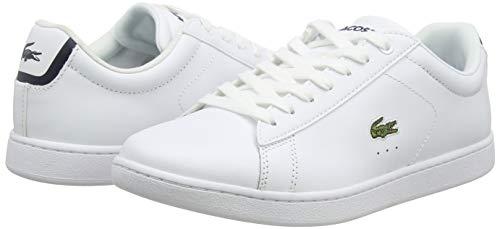 14225 7 lacoste carnaby bl damen snea | Lacoste Carnaby BL, Damen Sneaker, Weiß (weiß / dunkelblau weiß/dunkelblau), 38 EU (5 UK)
