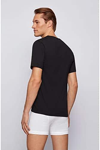 3441 5 boss herren t shirt vn 3p co d   BOSS Herren T-Shirt VN 3P CO Dreier-Pack T-Shirts aus Baumwolle mit V-Ausschnitt
