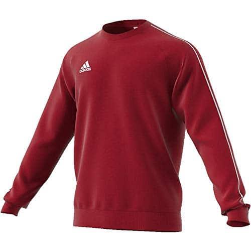 4315 10 adidas herren core18 sw top sw | adidas Herren CORE18 SW TOP Sweatshirt, Power red/White, M
