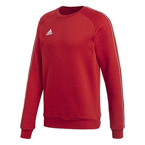 4315 4 adidas herren core18 sw top sw | adidas Herren CORE18 SW TOP Sweatshirt, Power red/White, M