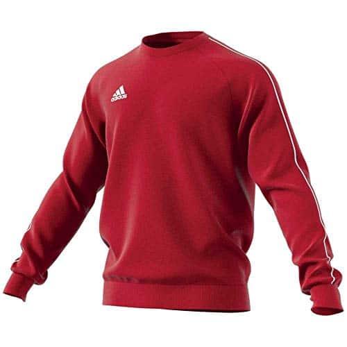 4315 5 adidas herren core18 sw top sw | adidas Herren CORE18 SW TOP Sweatshirt, Power red/White, M