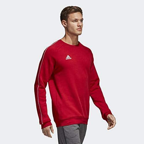4315 6 adidas herren core18 sw top sw | adidas Herren CORE18 SW TOP Sweatshirt, Power red/White, M
