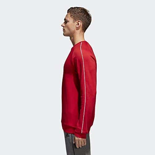 4315 8 adidas herren core18 sw top sw | adidas Herren CORE18 SW TOP Sweatshirt, Power red/White, M