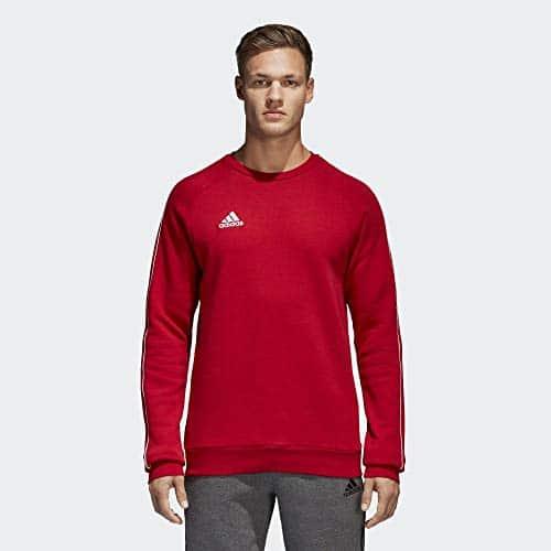 4315 9 adidas herren core18 sw top sw | adidas Herren CORE18 SW TOP Sweatshirt, Power red/White, M